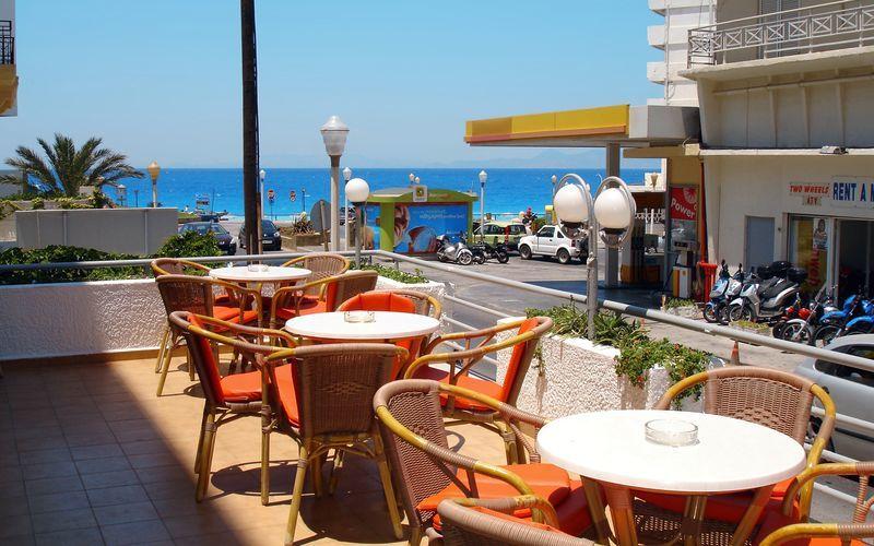 Hotel Africa i Rhodos by på Rhodos