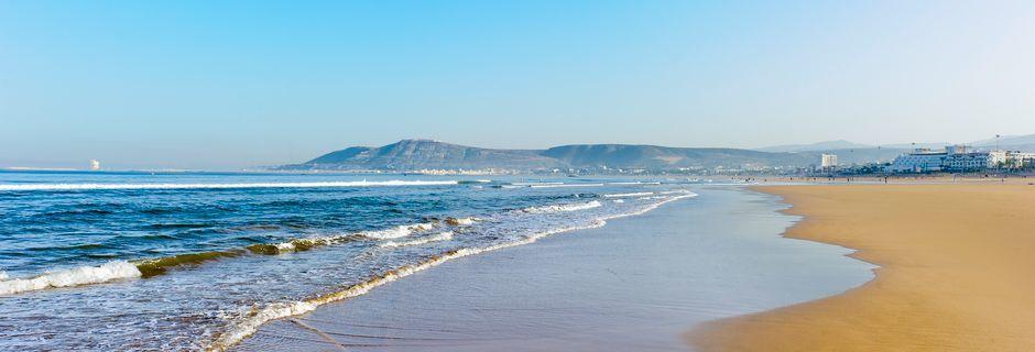 Stranden i Agadir