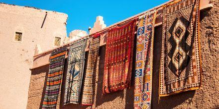 Teppebutikk i Agadir
