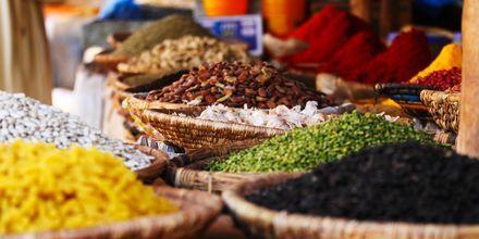 Krydderutsalg i Agadir