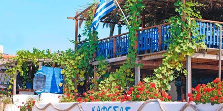 Restaurant Kafesas i Agios Georgios på Korfu