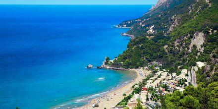 Glyfada på Korfu