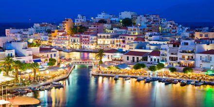 Kveldsstemning i Agios Nikolaos