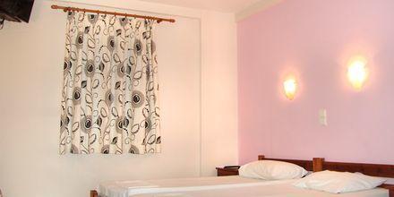 Ett av rommene på hotellet