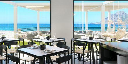Skisse av restaurant på hotellet