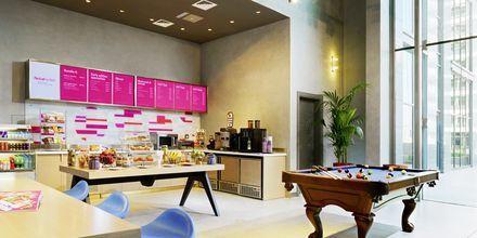 Kafé på hotellet