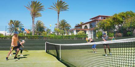 Tennis på hotellet