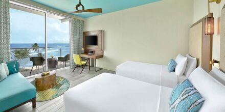 Deluxerom på hotell Amari Galle