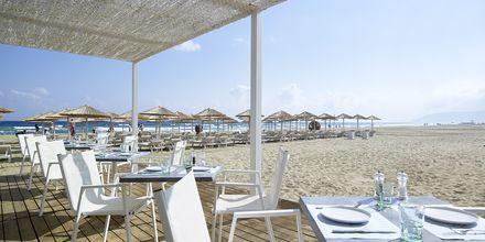 Restaurant på Sirocco på stranden