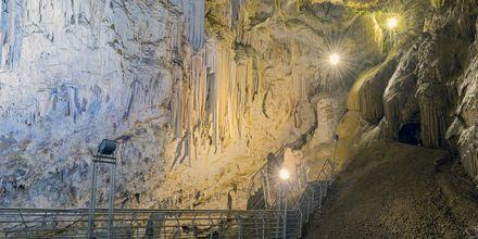Grottene på Antiparos