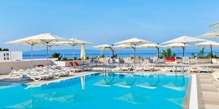 Bassengområdet på Romana Beach Resort