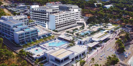 Hele anlegget Roman Beach Resort, en del er kun en skisse