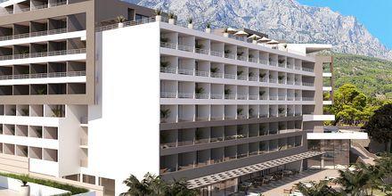 Skisse av hotellet