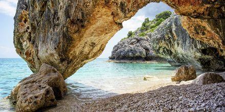 Vakre Kato Lagad ligger ca. 45 kilometer øst for Argostoli