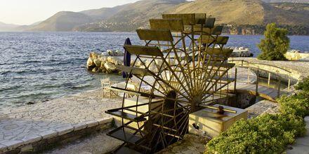 Vannhjul på Kefalonia i Hellas.