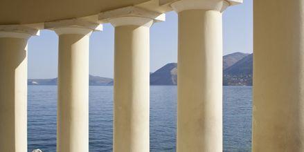 Fyret i Argostoli på Kefalonia, Hellas