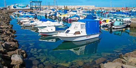 Havna i Arguineguin på Gran Canaria