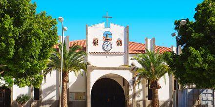 En av kirkene i Arguineguin på Gran Canaria