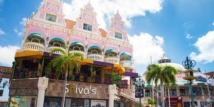 Hovedstaden på Aruba heter Oranjestad og er et skikkelig shoppingmekka!