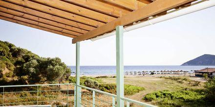 Utsikt mot havet fra villa