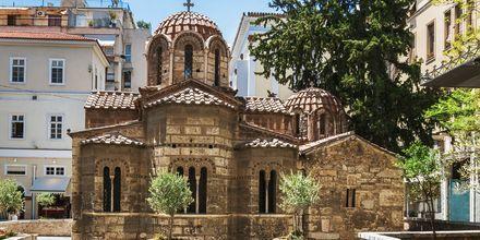 Vakre lille Panaghia Kapnikarea i Athen fra det 11. århundre