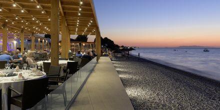 Restaurant og strand