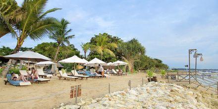 Strand ved hotellet