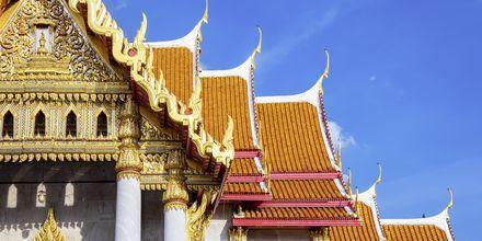 Wat Benchamabophit eller Marmortempelet som det kalles.