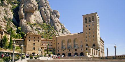 Klosteret i Montserrat utenfor Barcelona, Spania.