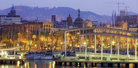 Havnen i Barcelona, Spania.