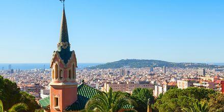 Utsikt over Gaudí House Museum og Barcelona