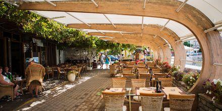 Der er mange hyggelige restauranter i Becici i Montenegro