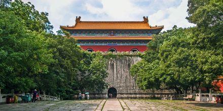 Ming Xiaoling Mausoleum er en gravplass for Zhu Yuanzhang, den første Ming-keiseren.