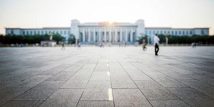 Tiananmen Square, eller Den himmelske freds plass i Beijing – er et historisk torg.