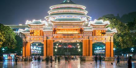 Folkets store hall er en kjent severdighet i Beijing.