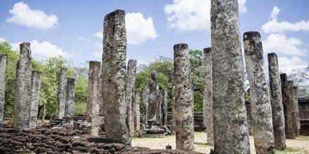 Ruinområdet i Polonnaruwa