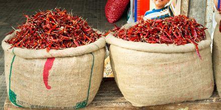 Chili fra Sri Lanka