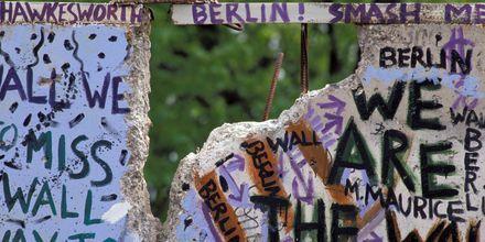 Rester av Berlinmuren
