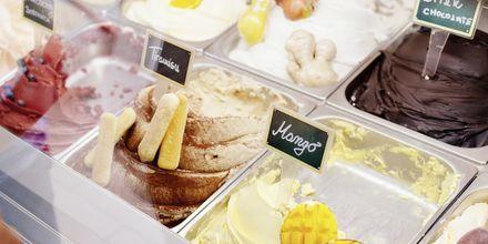 Sladoleda, iskrem er et must i Kroatia