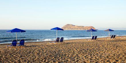 Stranden ved Blue Sea Villas