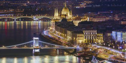 Budapest by night er et herlig syn.