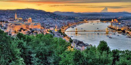 Budapest, Ungarn – en av Europas hotteste storbyer.