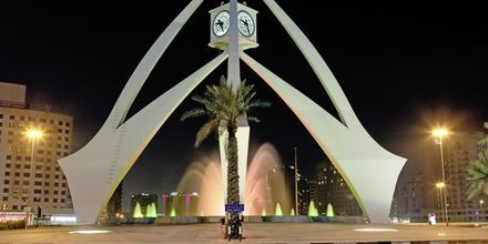 Klokketårnet i Deira, nær Bur Dubai