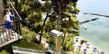 Heis-bane ned til stranden
