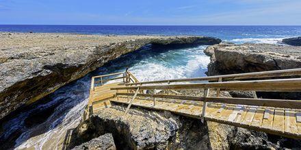 Nasjonalparken Shete Boka National er et herlig utfluktsmål i Curaçao.