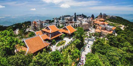 Fjellandsbyen Bà Nà Hills i Da Nang byr på koloniale hus og fantastisk utsikt.