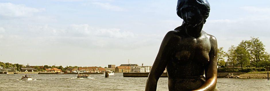 Den lille havfrue er en av de mest kjente attraksjonene i Danmark