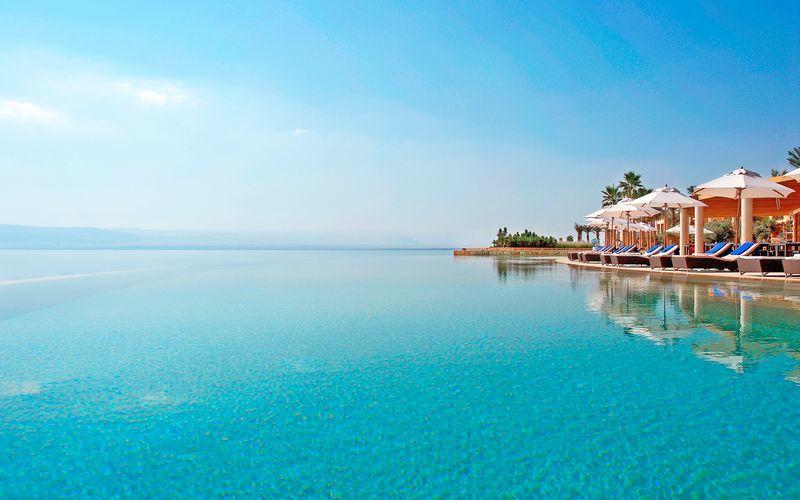 Kempinski Hotel Ishtar i Dødehavsområdet.