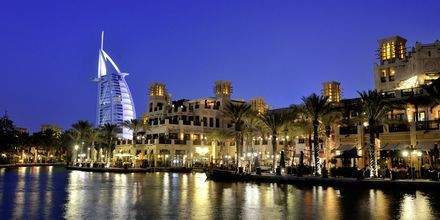 Natt over Burj al Arab