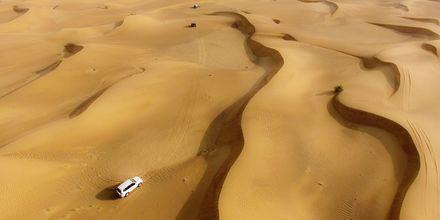 Jeepsafari i ørken